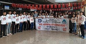 Şanlıurfa'dan Öğrenciler İlk Kez Uçağa Binmenin Heyecanını Yaşadılar