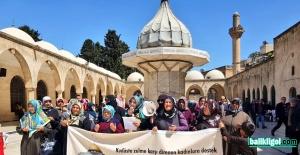 Şanlurfalı kadınlar Kudüs için...