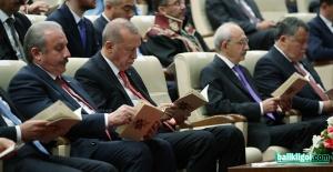 Erdoğan, Kılıçdaroğlu ile yanyana geldi