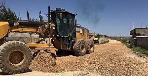 Eyyübiye'deki 4 kırsal mahalleye stabilize yol yapılıyor