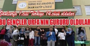 Suruç Kız Anadolu İmam Hatip Lisesi Şanlıurfa'nın Gururu Oldu