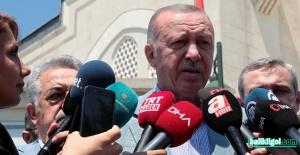 Erdoğan'dan net Akdeniz mesajı; Haklarımızı kimseye yedirtmeyiz