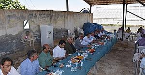 HRÜ Ziraat Fakültesi Hasada Başladı