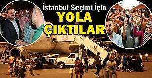 Oy Kullanacak Urfalılar İstanbula Hareket Ettiler