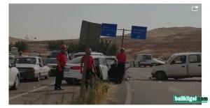 Şanlıurfa OSB'de Kaza: Yaralılar Var (VİDEO)