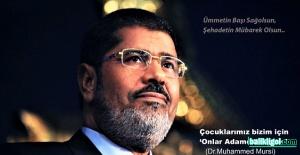 Şanlıurfa STK'ları Muhammed Mursi İçin Ayağa Kalktı