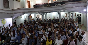 Şanlıurfa ASKF'de Tüzük Değişikliğini kabul etti
