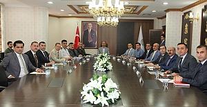 Şanlıurfa'da Güvenlik Toplantısı Yapıldı
