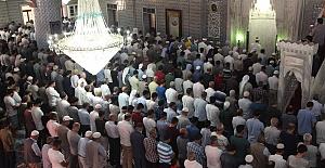 Şanlıurfa'da Muhammed Mursi İçin Gıyabi Cenaze Namazı Kılındı