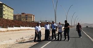 Urfa'da 6 Bulvarın Yol Yapımı Devam Ediyor