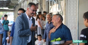 BAŞKAN KUŞ MESAİYE SABAH NAMAZIYLA...