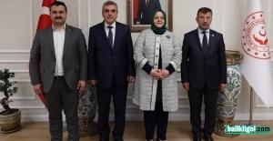İl Başkanı Bahattin Yıldız, Ankara'da temaslarını sürdürüyor