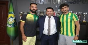 Şanlıurfaspor Halil Köçer ve Yasin Davuş ile anlaştı