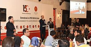 Urfa Vaililiği 15 Temmuz'da Şehit ve Gazileri Unutmadı