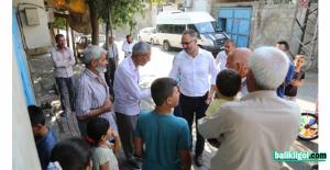 Başkan Kuş Mahalle mahalle dolaşarak sorunları çözüyor