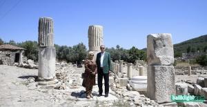 Cumhurbaşkanı Erdoğan, Stratonikeia Antik Kenti'ni ziyaret etti