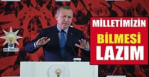Erdoğan Açık Konuştu: hepsini açıklayacağız