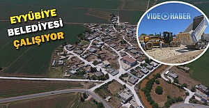 Eyyübiye Belediyesi Köylere Parke Taşı Döşüyor