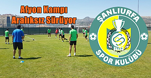 Şanlıurfaspor Afyon'da kamp yapıyor