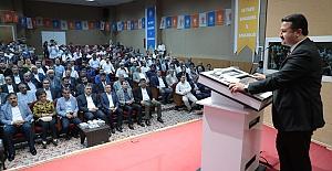 AK Parti Şanlıurfa Genişletilmiş İl Danışma Meclis toplantısı yapıldı
