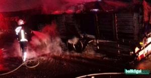 Bozova'da yakıt yüklü tanker küle döndü