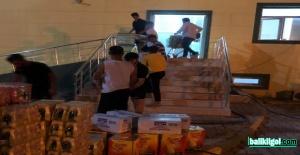 Büyükşehir'den Şanlıurfaspor'a Gıda Desteği
