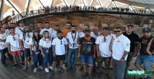 TransAnatolia Rallicileri Göbeklitepe'ye Hayran Kaldı