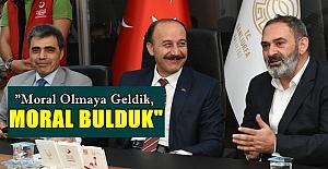 Dursun Ali Erzincanlı Urfa'da Moral Buldu