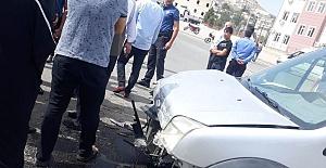 Eyyübiye'de trafik kazası