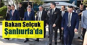 MEB Bakanı Ziya Selçuk Şanlıurfa'ya Geldi
