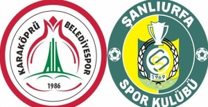 Şanlıurfaspor ve Karaköprü Belediyespor'un Maç Programı Belli Oldu