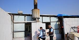 Urfa'da Fırınların Bacası Denetlendi