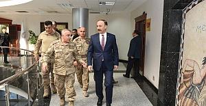 Urfa'da Hareketlilik Sürüyor! Tümgeneral Halis Zafer Koç Şanlıurfa'da