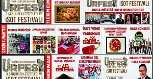 Urfa'da İsot Festivali Devam Ediyor