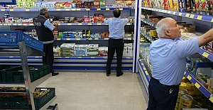 Urfa'da Zabıta Marketleri Denetledi