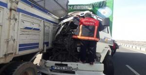 Viranşehir karayolunda trafik kazası: 1 yaralı