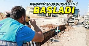 Büyükşehir Suruç'a 7 KM Kanalizasyon Yapacak