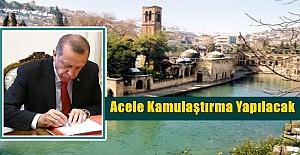 Erdoğan#039;ın İmzasıyla Urfa#039;da...