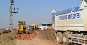 Eyyübiye'de Merkez Ve Kırsalda Çalışmalar Sürüyor