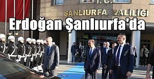 Şanlıurfa#039;da Erdoğan Sürprizi!...