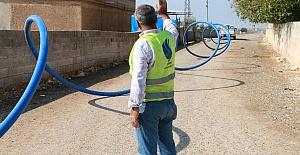 Şanlıurfa'da İçme Suyu Boruları Döşeniyor