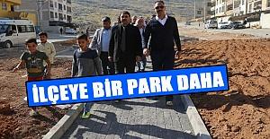 Selçuklu Mahallesine Yeni Park Yapılıyor