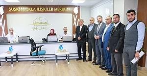 ŞUSKİ Bünyesinde Halkla İlişkiler Merkezi Açıldı