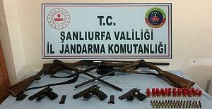 Viranşehir İlçesinde Silah Kaçakçılarına Operasyon
