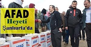AFAD Başkan Yardımcısı Taşkın Şanlıurfa'da