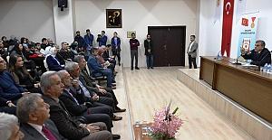 Başkan Beyazgül, Deneyimlerini Öğrencilerle Paylaştı
