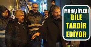 Başkan Mehmet Kuş Rakibinin Bu Hareketiyle Takdirini Kazandı