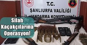 Urfa Jandarma'dan Silah Kaçakçılarına Operasyon!