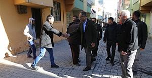 Başkan Kuş Akabe ve Akşemsettin Mahallelerini Ziyaret Etti