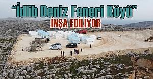 Deniz Feneri İdlib'e Ev Yapma Kampanyası Başlattı!